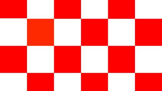 De provincievlag provincie noord brabant - Keuken in rood en wit ...
