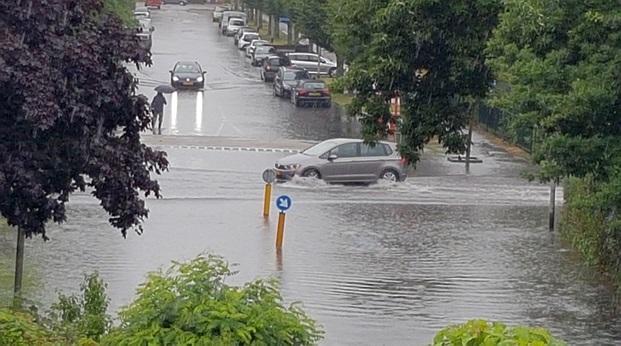 Wateroverlast in Drunen